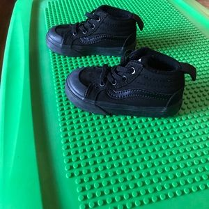 Toddler Black High Top Vans